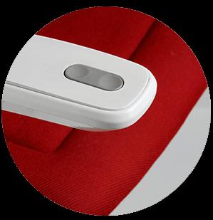 Bediening automatische opklapbare voetenplank